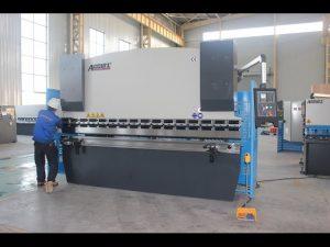 Màquina de tallar laminat 125T 6mm, fre de WC hidràulic WC67Y-125T 3200 per a la Xina