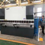 Màquina de doblar de fulles de 125ton per a la formació d'acer inoxidable