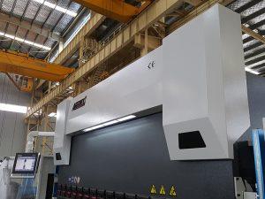 150 tones de fre de pressió 3200 mm de freqüència CNC 150 tones de fre hidràulica amb doblatge de 8 mm