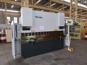 màquina de plegat hidràulica CNC 3 eixos de fre a Malawi