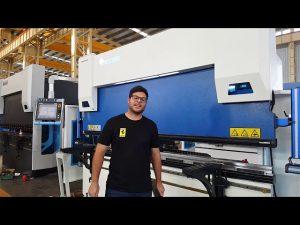 Braç de premsa CNC de 6 eixos Euro Pro B32135 amb sistema de clavatge Wila a través de clients australians