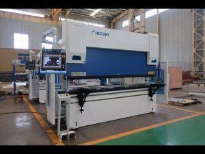 Màquina de fre de premsa CNC de 6 eixos de 100 tones x 3200 mm