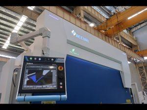 Fre de pressió hidràulica CNC de 8 eixos 110 tona 3200 mm