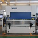 Xina va fer un fre hidràulic de fre de CNC, xapa d'acer inoxidable, plegadora de metall