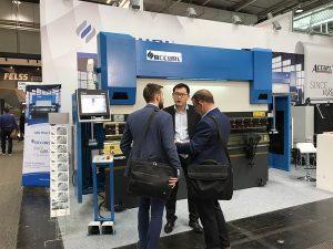 Accurl va participar a l'Exposició Hannover International Machine Tool a Alemanya el 2017