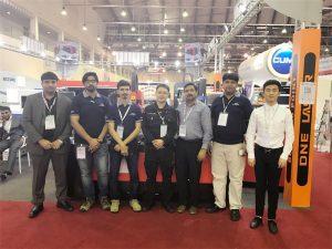 La delegació de Dubai visita la nostra exposició