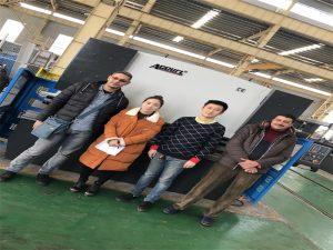 Els clients d'Egipte compren màquines de fre de premses de les empreses Accurl