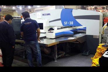 Maquinària d'impressió de perforadora hidràulica servo cnc d'alta qualitat