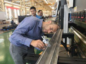 Màquina d'assaig de client d'Iran a la nostra fàbrica 2