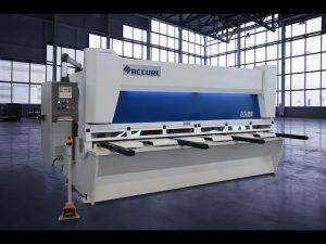 Mestre cisalles de guillotina hidràulica MS8 3206 amb sistema CNC de pantalla tàctil ELGO P40T