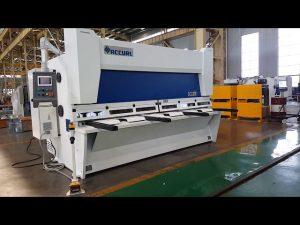 Màquina de tall de guillotina de raig variable variable amb sistema CNC ELGO P40T