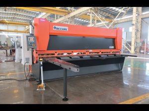 Rastrillo variable mestre amb cisalla hidràulica CNC de guillotina MS8-10x4000mm
