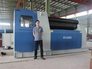 Els clients de Tailàndia compren la màquina rodant W12 de la companyia Accurl