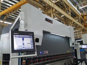 Màquina de doblatge hidràulica Delem DA52, posicionament precís Preus horitzontals de fre freqüència, ferro angular