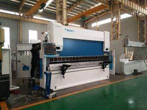 màquina de fre automàtica de 600 tones, màquina de doblegar de xapa metàl·lica de doble guiat