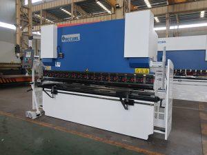 WC67Y fre de pressió hidràulica, màquina de doblegar de barra de coure, màquina de doblatge de cnc
