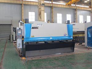 Cisalla hidràulica QC11y-8 * 3200 per a la venda amb control CNC