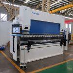 WC67Y-80T / 2500 màquina de fre de premsa cnc d'acer 80T