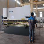 promoció WC67Y fre hidráulica de xapa metàl·lica, màquina de plegat per perfil d'alumini