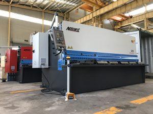 màquina de tall hidràulica màquina de tall de plaques d'acer de 12 mm de 2500 mm