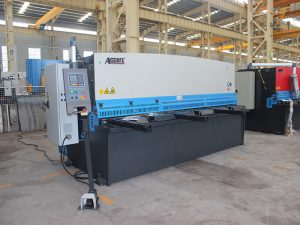 Màquina de cisalla hidràulica de boix de plaques de placa metàl·lica QC12Y