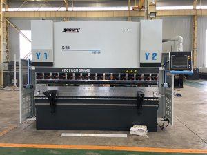 We67k CNC cargol hidràulic de premsa de fulla de ferro