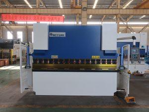 màquina de fre de premsatge d'acer ràpid de freqüència NC amb control d'estun e21 NC
