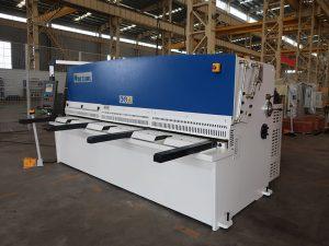 alta precisió de tall QC12Y màquina talladora de xapa de 4 x 2500 màquina talladora hidràulica de xapa d'acer