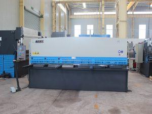alta precisió tipus de guillotina de cisalla hidràulica QC11y-16 * 6000
