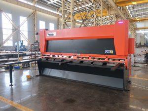 màquina talladora hidràulica QC12y-6X3200 màquina de tall hidràulica cisalla hidràulica de guillotina