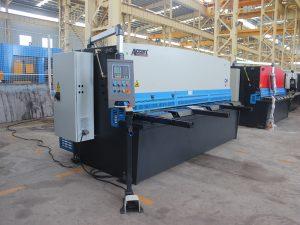 màquina de tall de balancí de placa metàl·lica hidràulica